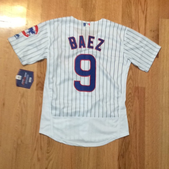 watch eded0 c357a Chicago Cubs #9 Baez jersey